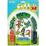 Perler Beads Rare Bugs and Birds Jungle Animal Craft Activity Kit, 2005 pcs