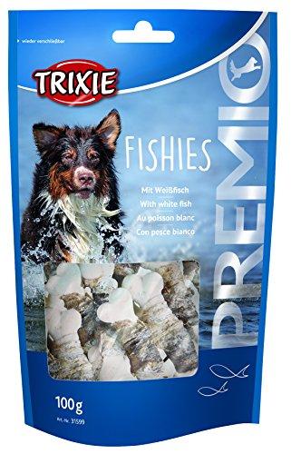 TRIXIE Preis Fische 100gr - Snacks und Knochen für Hunde