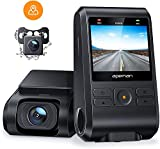 APEMAN Dashcam Autokamera Dual Lens Full HD 1080P Vorne und 720p Hinten Kamera 170° Weitwinkel mit...