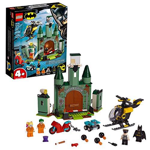 LEGO®-DC Comics Super Heroes™ 4 Ans et Plus Batman™ et l'évasion du Joker Jouet DC Comics Enfant Préscolaire 4 Ans et Plus, 171 Pièces 76138