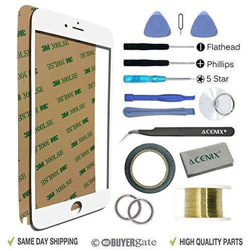 ACENIX® witte kleur gebroken scherm vervanging reparatie kit voor iPhone 7 Plus 5.5