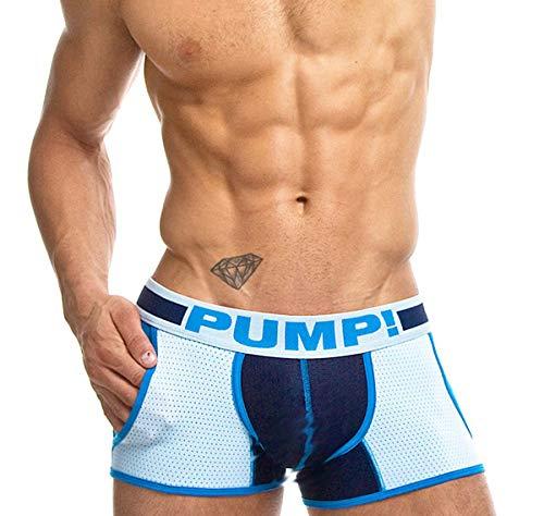 PUMP! Herren Boxershorts True Blue Jogger 11054, blau XL