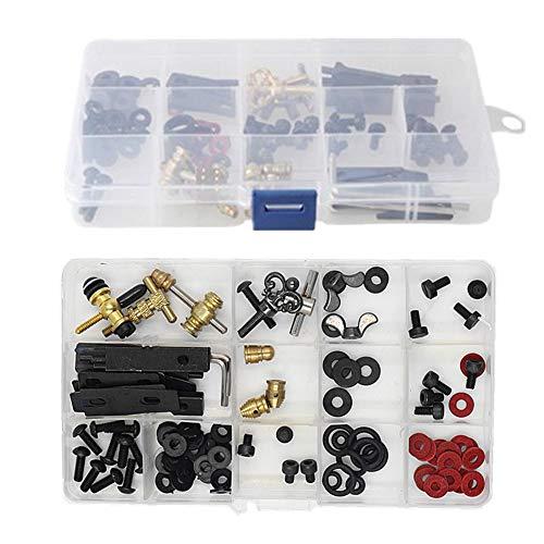 Tattoo Machine Parts - Yuelong DIY Kit of Tattoo Parts and Accessories, Tattoo Machine Kits Repair Tattoo Parts Kit and Maintain Tattoo Kits for Tattoo Guns,Tattoo Kits,Tattoo Supplies