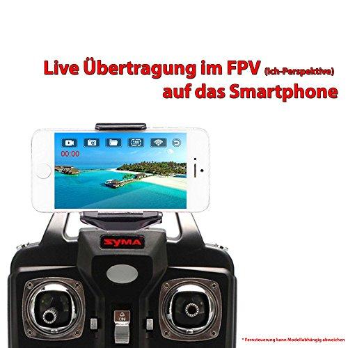 HSP Himoto SYMA WiFi Kamera FPV KIT Live Übertragung auf Smartphone/Tablet für Syma X5SC, X5SW, X5HC,X5HW Upgrade Aufrüst-KIT