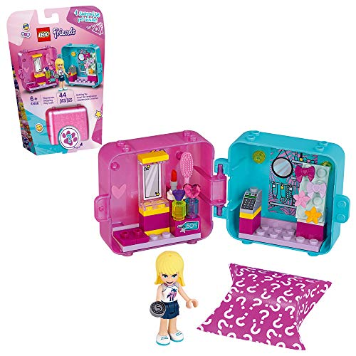 LEGO Friends Stephanie?s Shopping Play Cube 41406 Building Kit, Mini-Doll Set That Promotes Creative Play, New 2020 (44 Pieces)