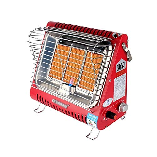 Patio Heaters Liquefied Gas Heater, Rapid Heating Patio Heater, Adjustable Heating  3 Gears, Ceramic Heating Plate, for Livingroom, Bedroom,Terrace Outdoor Heater