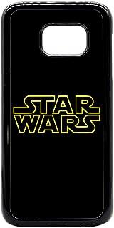 Samsung Galaxy S6 Plus Star Wars Logo Print Back Cover - Black