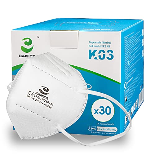 x30 Masques FFP2 NR - Certifié CE EN149 Masque de Protection Respiratoire