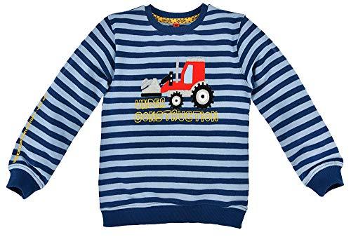 BONDI Sudadera de tractor para chicos 33125, diseño de rayas, color azul Sky / Navy 86 cm