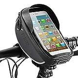 Winkeyes BikePhoneFront FrameBag Bicycle BikeTop Tube Bike Bag Waterproof Storage Bike Bags Mountain BikeHandlebarBag Holder Cycling with Touch Screen Headphone Jack Phone Mount Below 6.0'