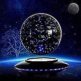 THj Globo Flotante de levitación magnética, Bola Auto-giratoria de 6 Pulgadas, Mapa del Mundo antigravedad, Globos terrestres para Escritorio, Oficina, decoración del hogar, educación para niños