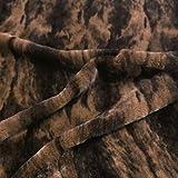 TOLKO 50cm Kunstfell | weicher Baumwollstoff mit 4mm