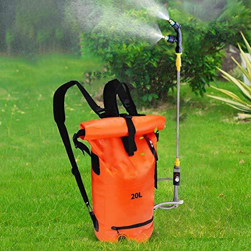 PaNt Pulvérisateur à Dos Pliable,20L Pulvérisateur électrique sans Fil,Pulvérisateur de désherbage de Jardin, utilisé pour la Lutte antiparasitaire, la désinfection par pulvérisation de Jardin