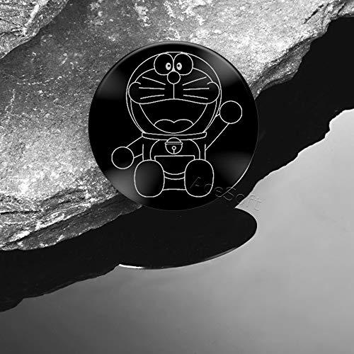Floveme Doraemon Metal Plate Adhesive Sticker Replace for Magnetic Car Mount Phone Holder