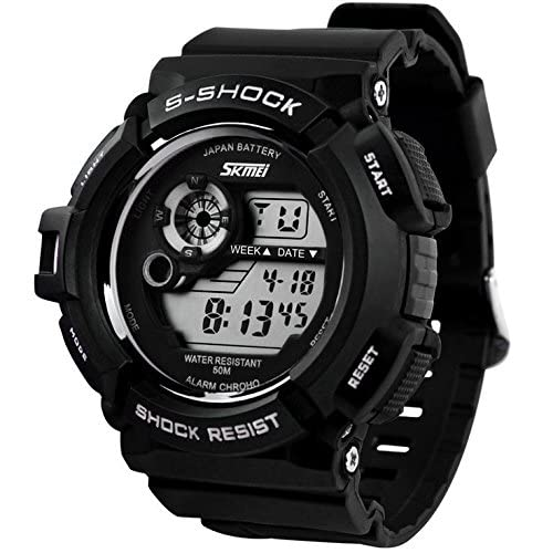 Amazon.com : Relojes de Hombre Sport LED Digital Military Water Resistant Watch Digital Men De Hombre Para Caballero : Everything Else