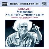 モーツァルト:交響曲第31番, 第35番, 第40番 (ティントナー)