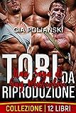 Tori da Riproduzione: Una Saga di Gay Muscolosi (Collezione di 12 libri) (Il sottomesso, lo stallone da riproduzione e il loro padrone Vol. 7)