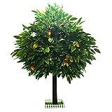 Gran arbol artificial Simulación Árbol de mango Decoración interior grande Árbol...