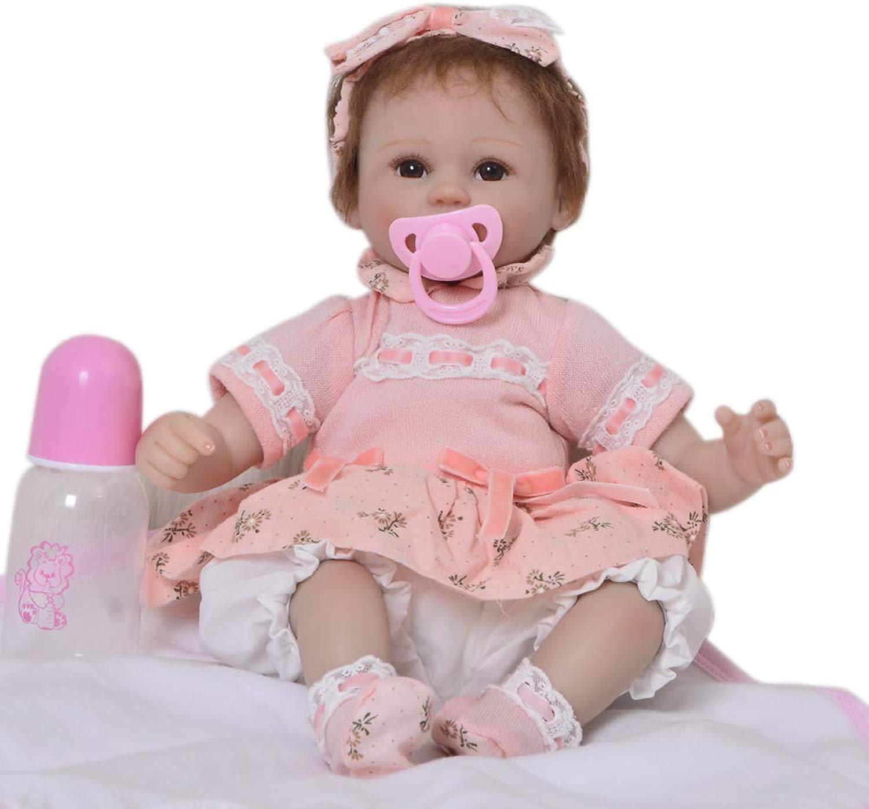 ZZYB 43cm Bambole Reborn bambino bambola Simulazione Cordiale Facciale Bambolotti per i Giocattoli Bambini miglior Compleanno Regalo di Natale