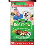 Purina Dog Chow Complete Adult Chicken Dry Dog Food Real Chicken New (Chicken, 52 Lb.)