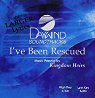 I've Been Rescued [Accompaniment/Performance Track] by Made Popular By: Kingdom Heirs
