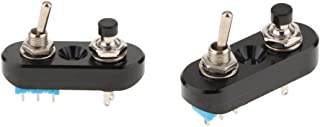 SDENSHI 2 Stücke CNC Mini Motorrad Lenker Stop Start Kill Hebel Dual Switch Taste