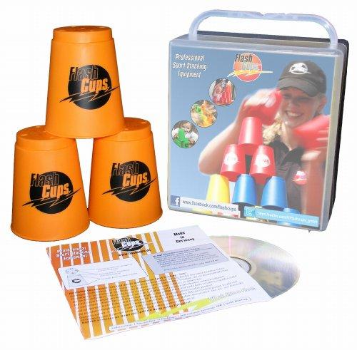 Flash Cups 1004ORANGE - FlashCups con Dvd, Colore: Arancione (Lingua Tedesca)