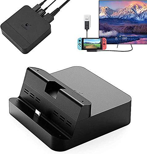 GULIkit Switch Docking Station, Switch TV Dock mit PD-Ladeanschluss, HDMI-Adapter und USB 3.0-Anschluss, unterstützt Samsung DeX-Modus, Huawei PC-Modus, Smartisan TNT-Modus, MacBook Pro