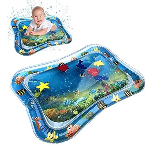 Pumpumly Verano de doble propósito juguetes bebé bebé inflable cojín de agua golpeado Pat Mat postrar centro de juego almohadas de agua suministros de baño