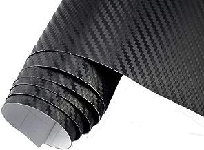 9€//m² 4D Carbon Folie 100 x 152 cm flexibel Blasenfrei Auto Folie pink