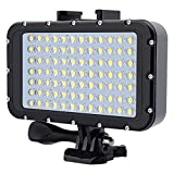 Qinghengyong compatible with Sports Camera diving night light camera 50M Waterproof Diving Night Light 84 LED Video SLR Photographic Lamp