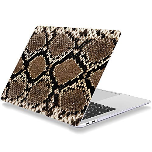 Laptop Case for Macbook Pro 15 Inch 2015 2014 2013 2012 Release A1398 Plastic Hard Shell Cover Compatible with MacBook Pro 15' with Retina Display NO CD Drive Snakeskin Animal