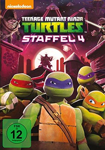Teenage Mutant Ninja Turtles - Season 4 [4 DVDs]