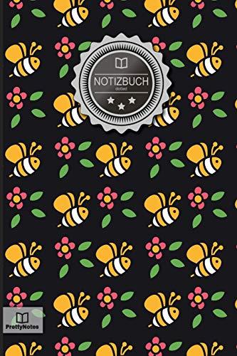 """Notizbuch: """"Bienen & Imker"""" • 100+ Seiten, Punktraster (dotted), 6x9 Zoll, Soft Cover, mit Inhaltsverzeichnis • Original PrettyNotes Notizbuch mit ... Hausaufgabenheft, Schulheft, Notizheft"""