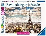 Ravensburger- Paris Puzzle 1000 piezas Foto & Paisajes, Multicolor, talla única (14087) , color/modelo surtido