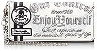 [クリエーションキューブ] プリント入りターポリン長財布 4681-558 ホワイト