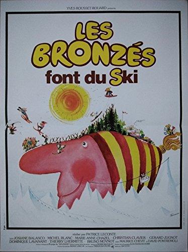 Les BRONZES Font du Ski Affiche Cinéma (Format 53x40 cm pliée) R1990