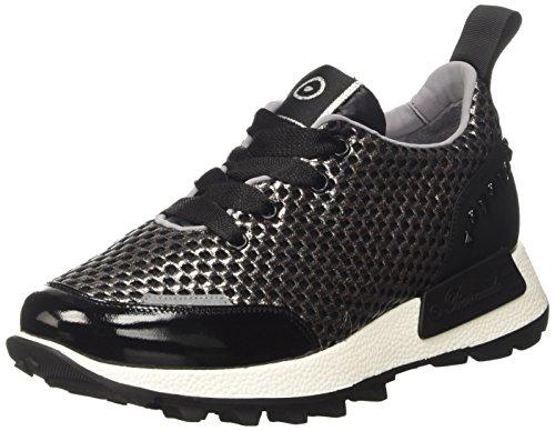 Barracuda B00FR241F, Sneaker a Collo Basso Donna, Nero, 38 EU