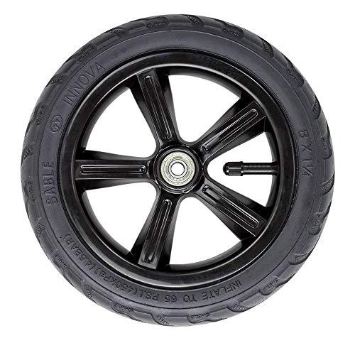 Frenzy Wheels Skateboard, Unisex, für Erwachsene, Unisex-Erwachsene, FR551, Schwarz (Black), 205 mm