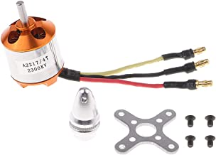 Flameer A2217-2300KV Brushless Motor for RC Boat Parts/ Fixed Wing 6'' Propellers