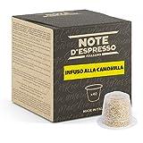 Note d'Espresso Italiano - Cápsulas de Manzanilla, Compatibles con cafeteras Nespresso, 40 unidades de 2g, Total: 80 g