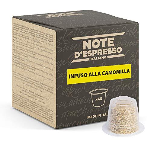 Note d'Espresso - Manzanilla - Cápsulas compatibles con Cafeteras NESPRESSO* - 40 caps