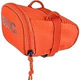 evoc Bike Seat Bag - Bike Bag Under Seat Storage Bag for Road Bikes, Mountain Bikes, Universal Fit - Orange