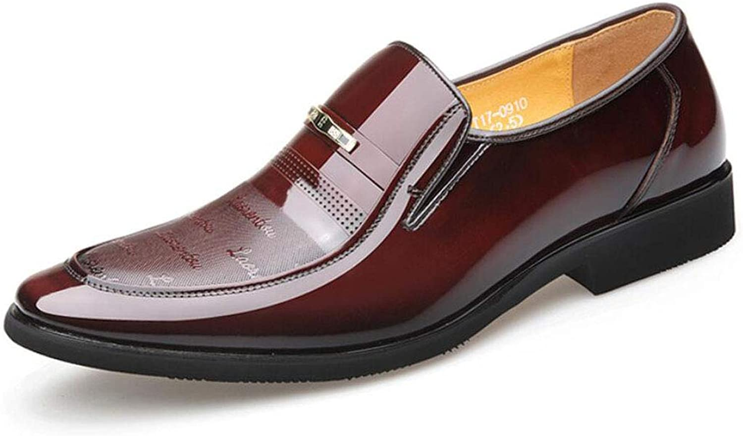 Lok Fu shoes Pointed Patent Leather Feet shoes Comfortable shoes Leather Business Dress shoes