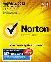 Norton Antivirus 2012 1 PC + PC Tools Registry Mechanic