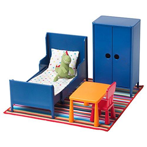 HUSET - Puppenmöbel, Schlafzimmer