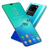 Yctze Desbloqueo de Huellas Dactilares Smartphone 1 + 8GB con 128GB de Espacio de Almacenamiento expandible Ligero(Gradient Green)