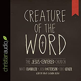 Creature of the Word audiobook cover art
