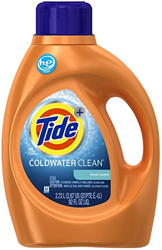 Tide Coldwater Clean High Efficiency Liquid Laundry Detergent - 92 fl oz