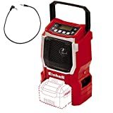 Einhell TE-CR 18 Li Solo Power X-Change Cordless Radio - Supplied without Battery and Charger